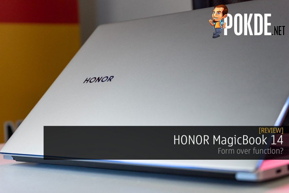 HONOR MagicBook 14 review form over function cover