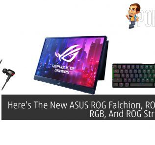 Here's The New ASUS ROG Falchion, ROG Cetra RGB, And ROG Strix XG16 31