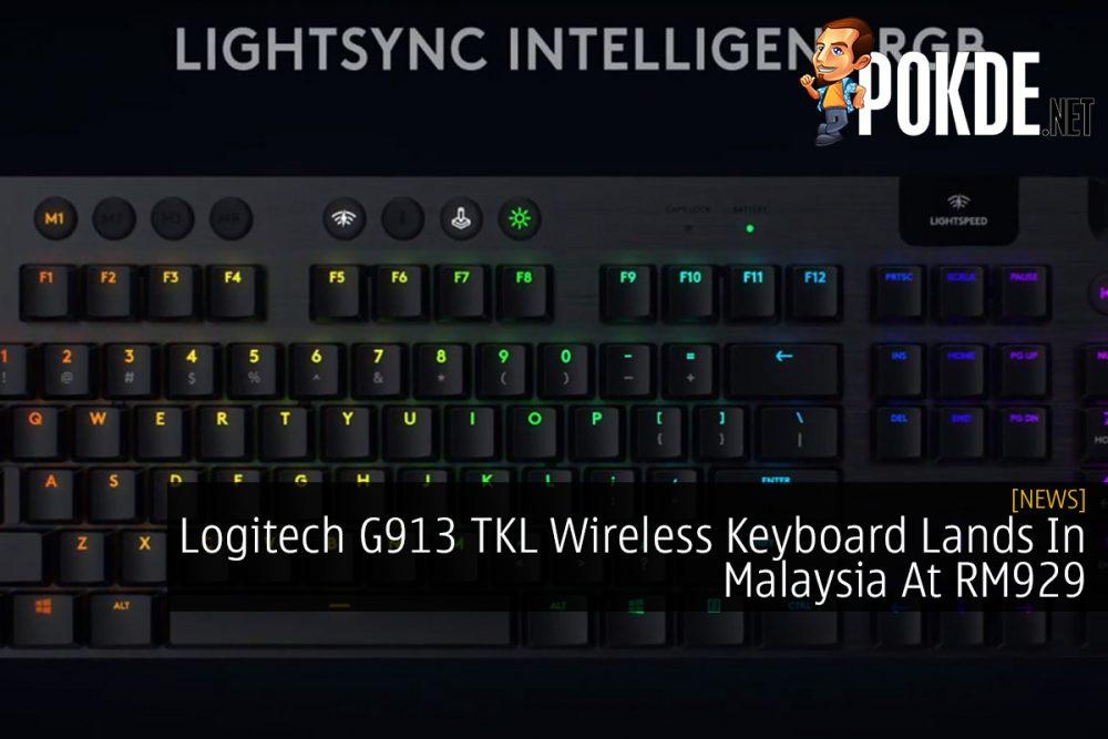 Logitech G913 TKL Wireless Keyboard Lands In Malaysia At RM929 21