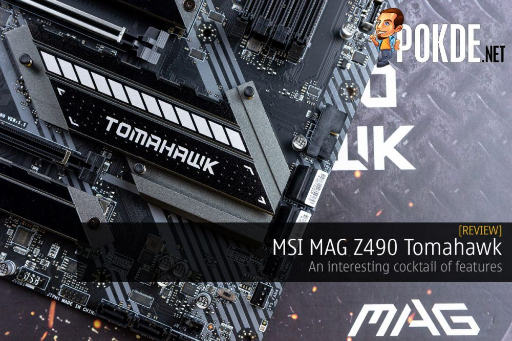 MSI MAG Z490 Tomahawk review cover