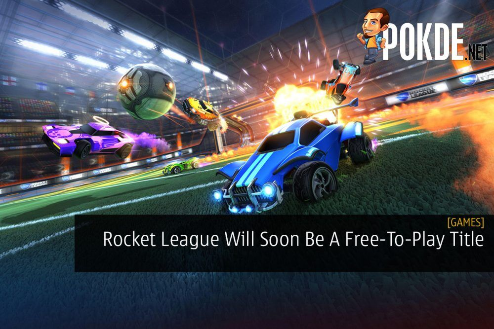 Rocket League Will Soon Be A Free-To-Play Title 24