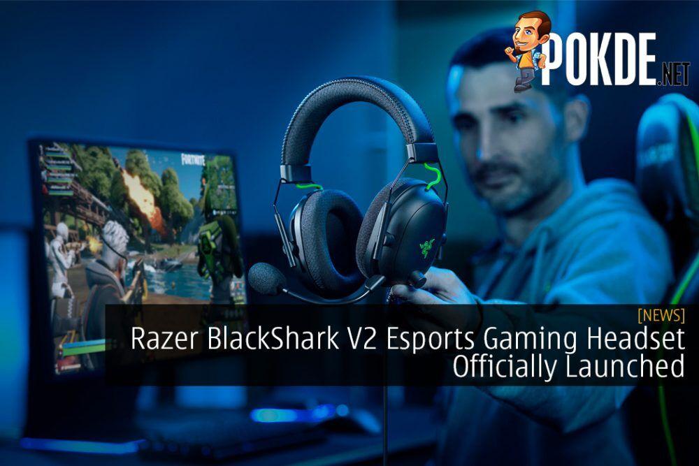 Razer BlackShark V2 Esports Gaming Headset Officially Launched