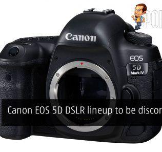 canon eos 5d discontinue cover