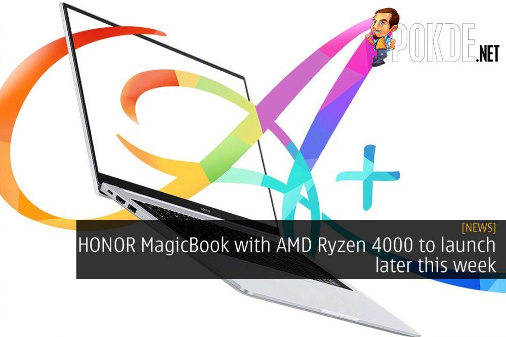 honor magicbook amd ryzen 4000 cover