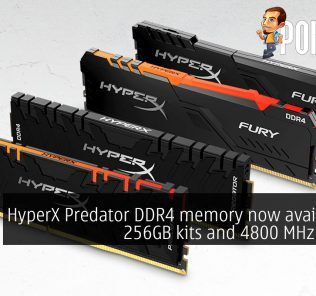 HyperX Predator DDR4 memory now available in 256GB kits and 4800 MHz speeds 17