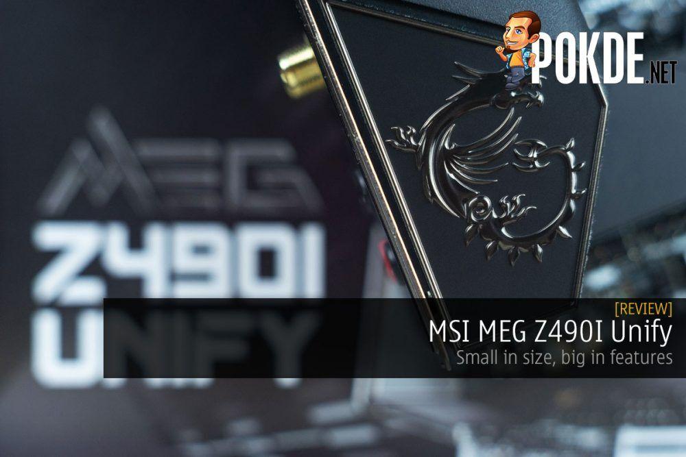 msi meg z490i unify review cover