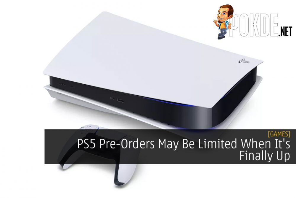 PS5 Pre-Orders May Be Limited When It's Finally Up