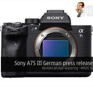 sony a7s iii leak price cover