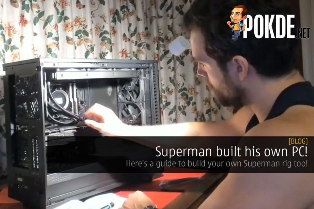 superman build cover