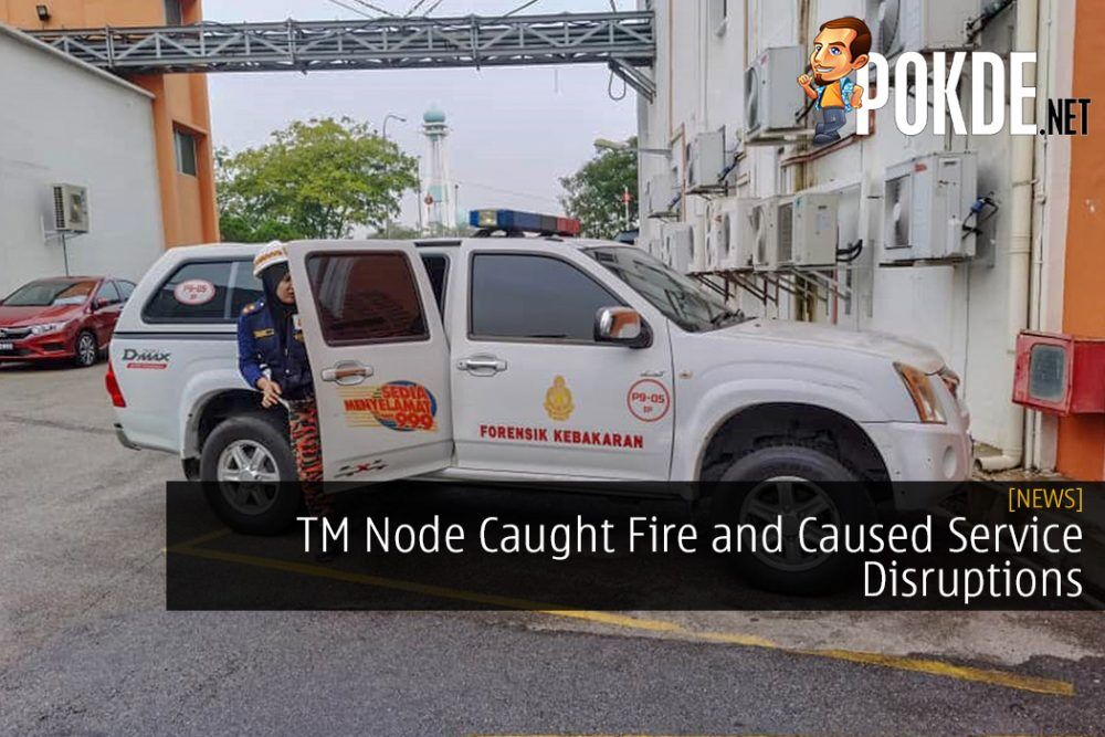 TM Node Caught Fire and Caused Service Disruptions