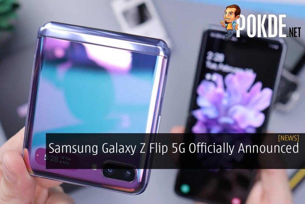 Samsung Galaxy Z Flip 5G Officially Announced