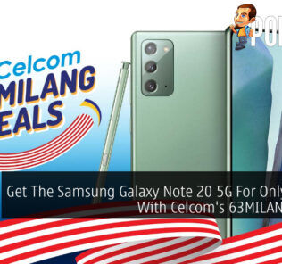 63MILANG Deals Celcom Samsung Galaxy Note 20 5G