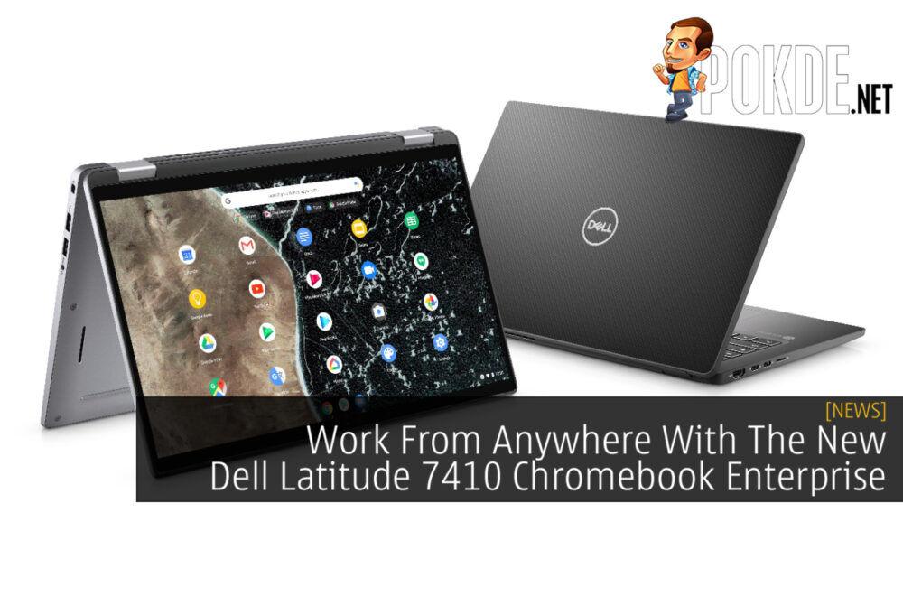 Dell Latitude 7410 Chromebook Enterprise cover