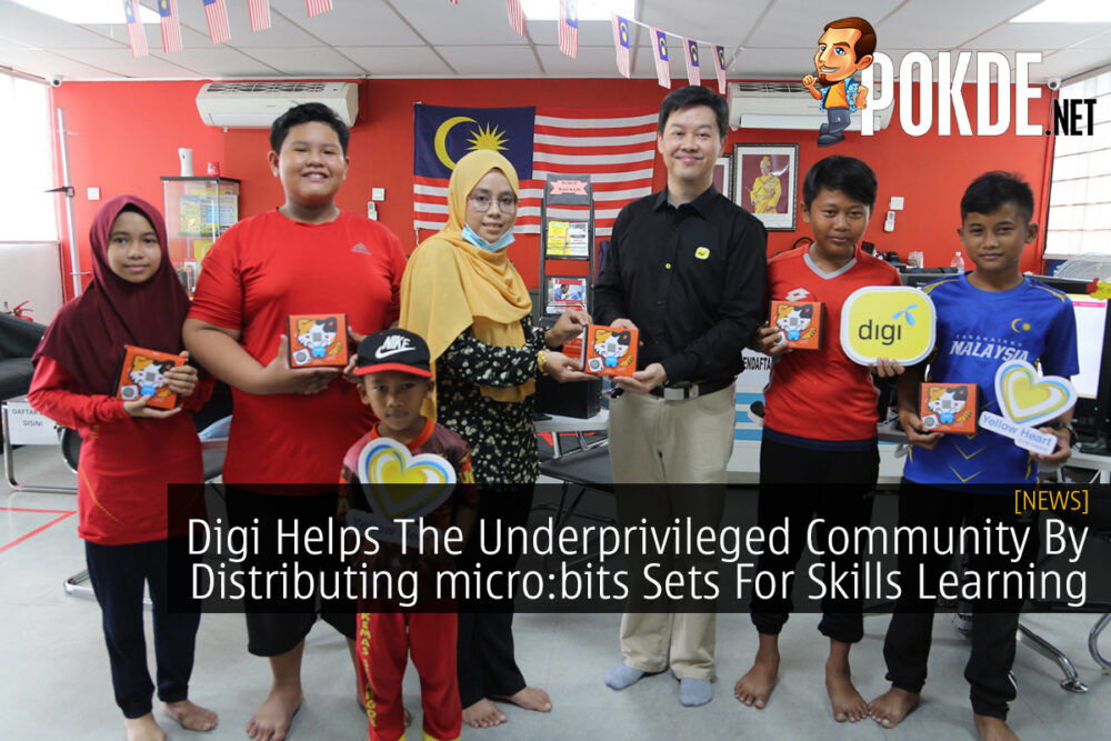 Digi Helps The Underprivileged Community By Distributing micro:bit Sets For Skills Learning 26
