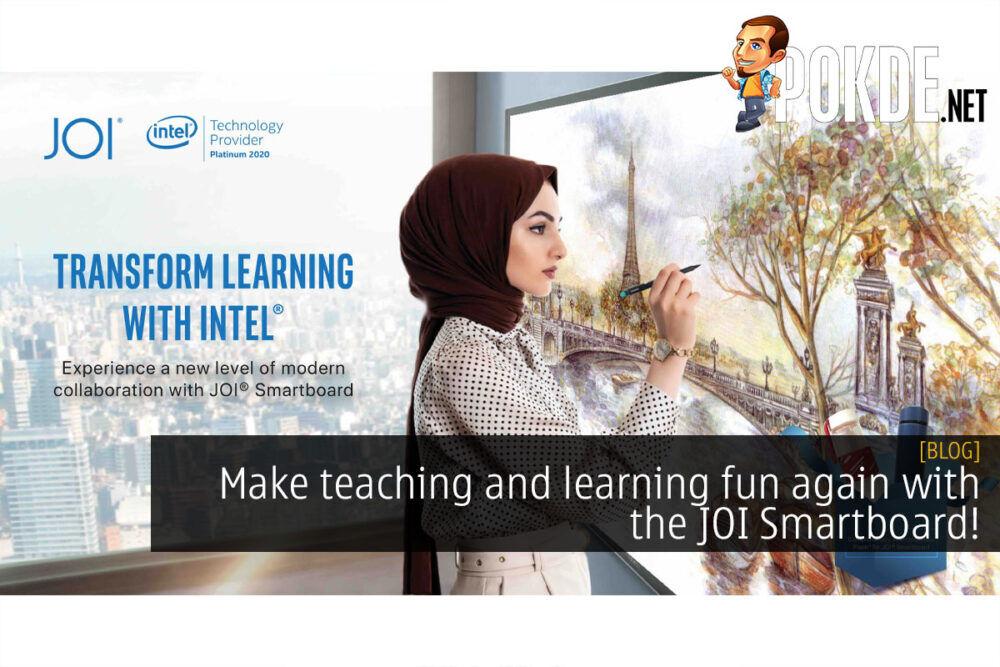 JOI Smartboard teaching learning fun again cover