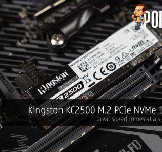 Kingston KC2500 PCIe NVMe Review cover