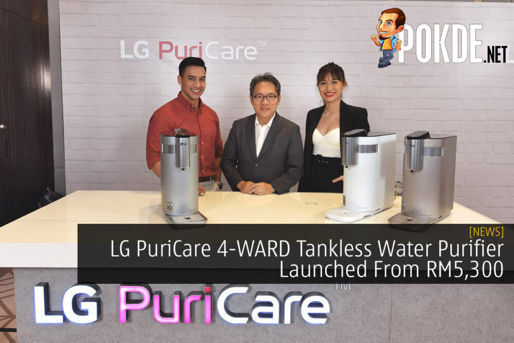 LG PuriCare 4-WARD Tankless Water Purifier Launched From RM5,300 19