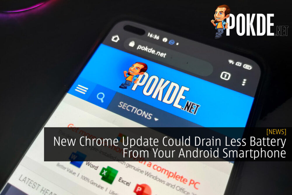 New Chrome Update Could Drain Less Battery From Your Android Smartphone 20