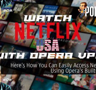 Opera VPN cover Netflix