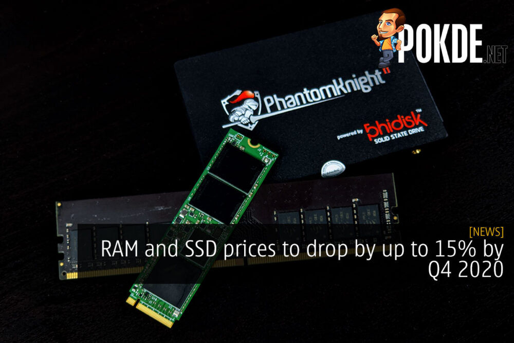 RAM and SSD prices to drop by up to 15% by Q4 2020 18