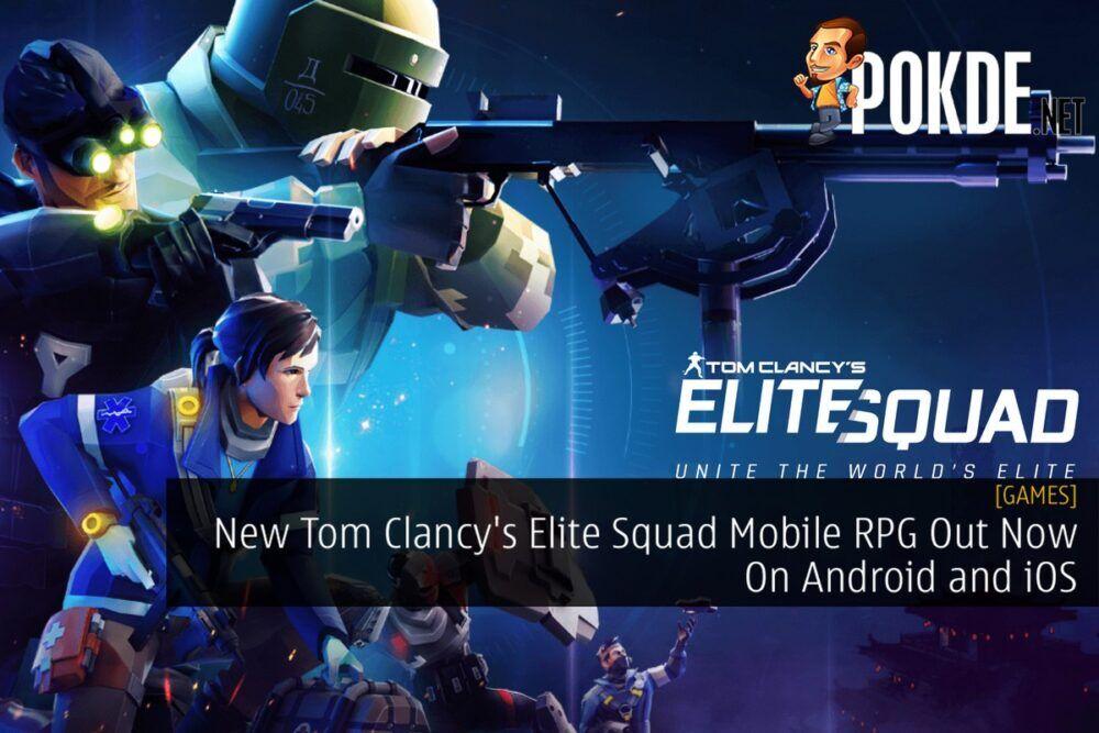 Tom Clancy's Elite Squad cover