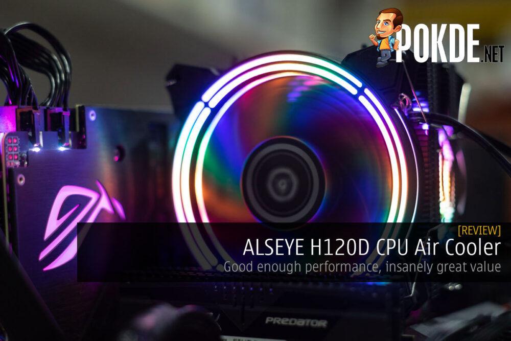 alseye h120d cpu cooler cover