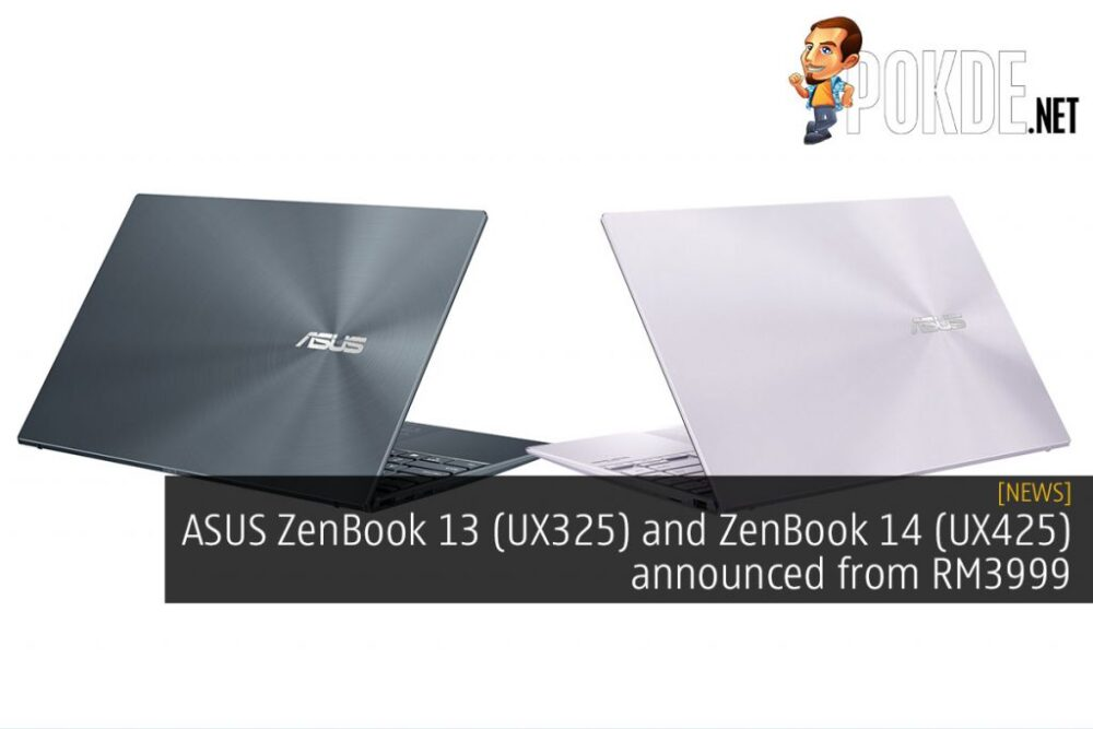ASUS ZenBook 13 (UX325) And ZenBook 14 (UX425) Announced From RM3999 25