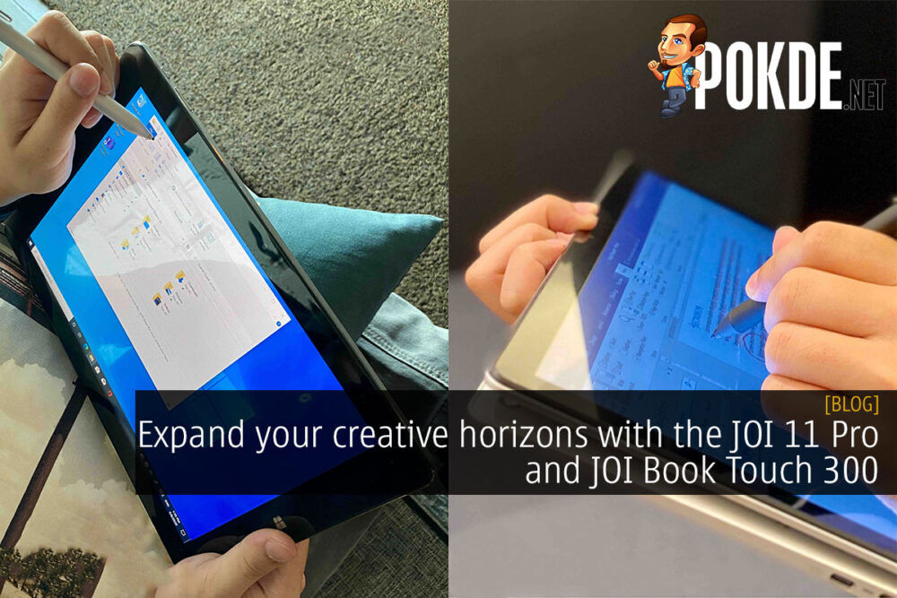 Expand your creative horizons with the JOI 11 Pro and JOI Book Touch 300 19