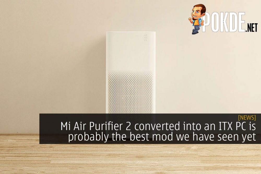 mi air purifier 2 itx pc mod cover
