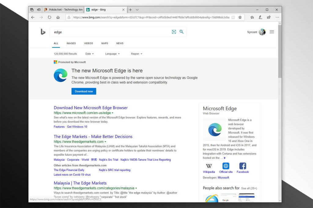 microsoft edge end support