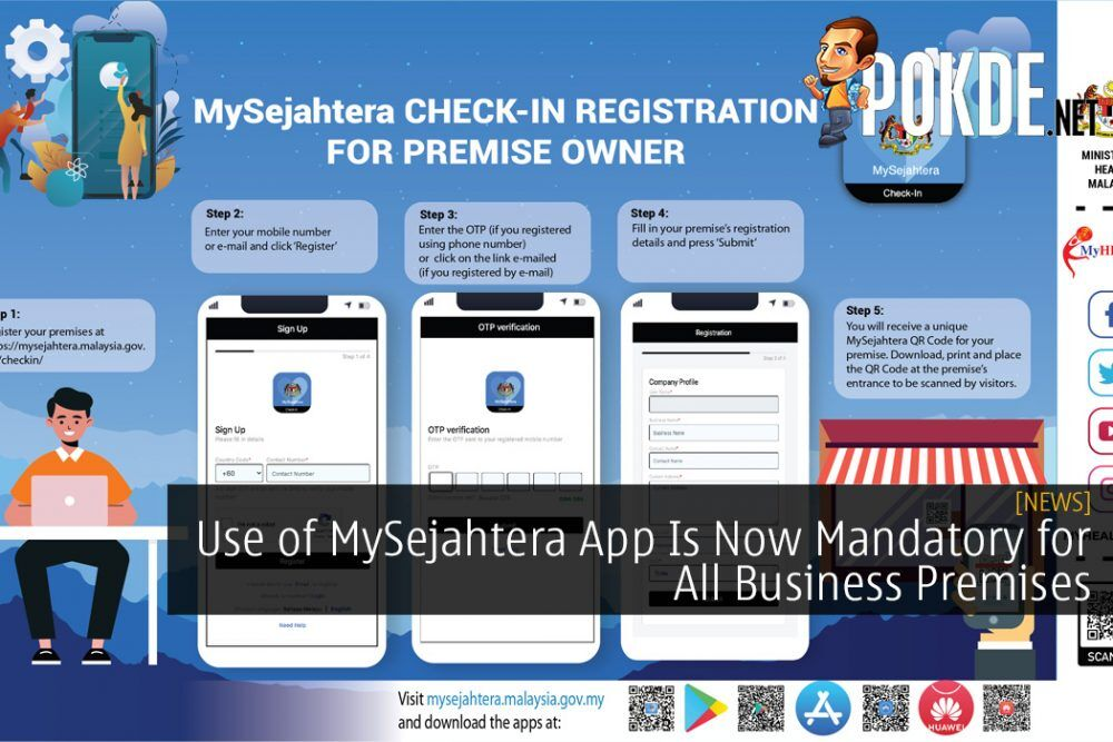 Use of MySejahtera App Is Now Mandatory for All Business Premises