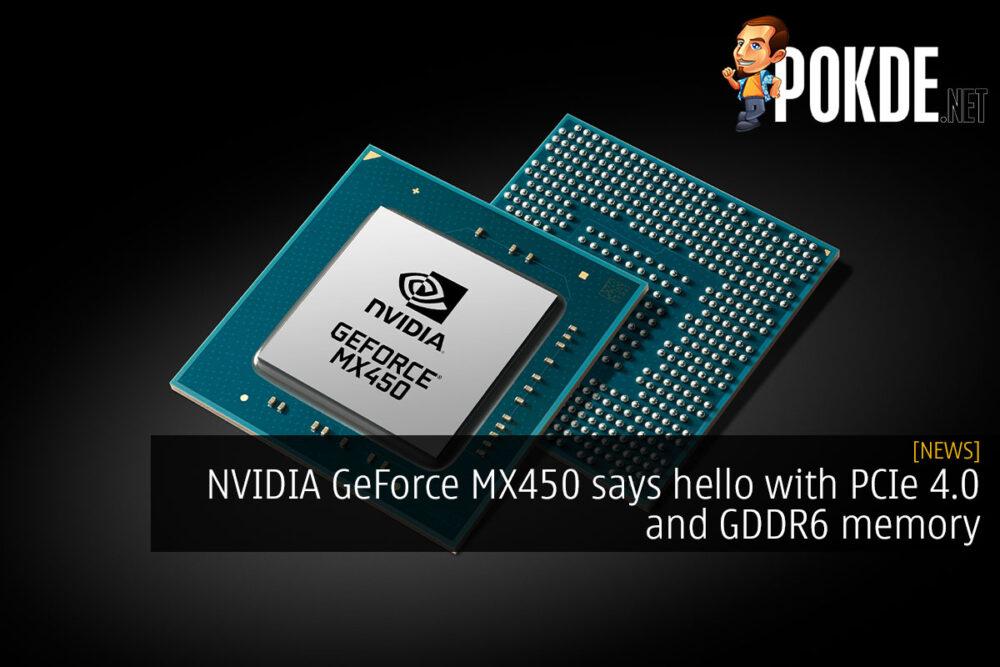 nvidia geforce mx450 pcie 4 gddr6 cover