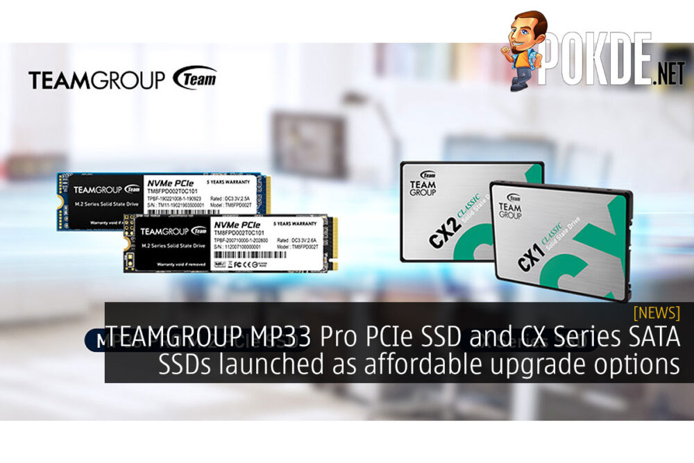 teamgroup mp33 pro pcie ssd cx series sata ssd cover
