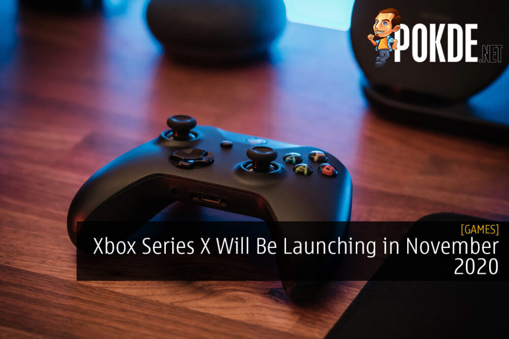 Xbox Series X Will Be Launching in November 2020