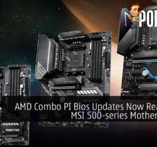 AMD Combo PI Bios Updates Now Ready For MSI 500-series Motherboards 24