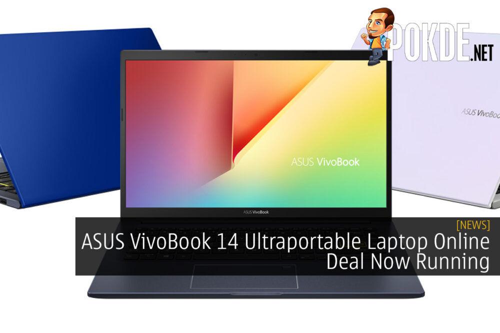ASUS VivoBook 14 Ultraportable Laptop Online Deal Now Running 22
