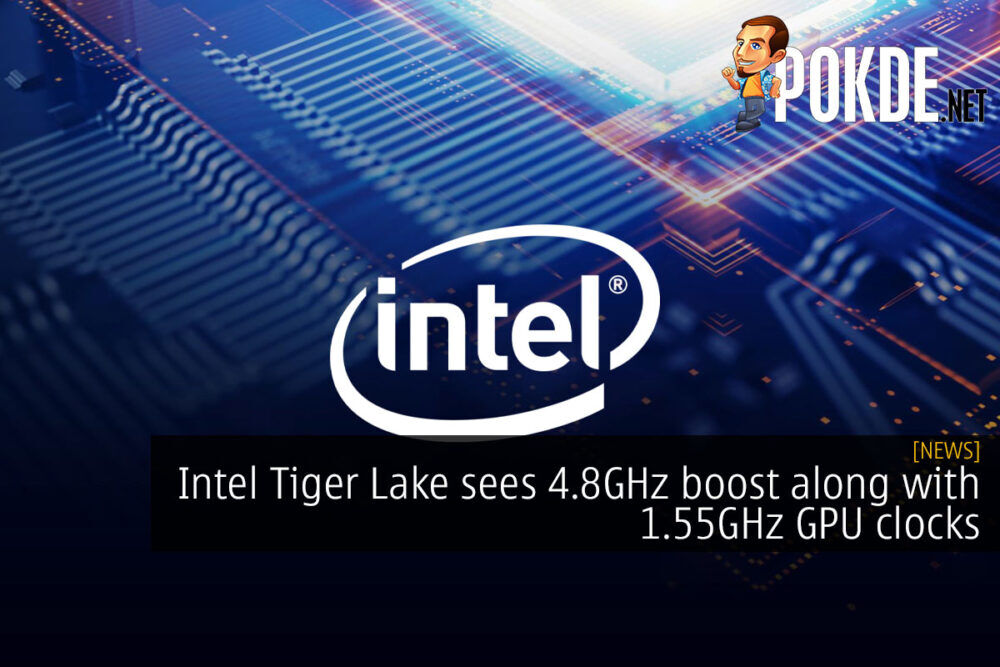 Intel Tiger Lake boost gpu core i7-1185g7 cover