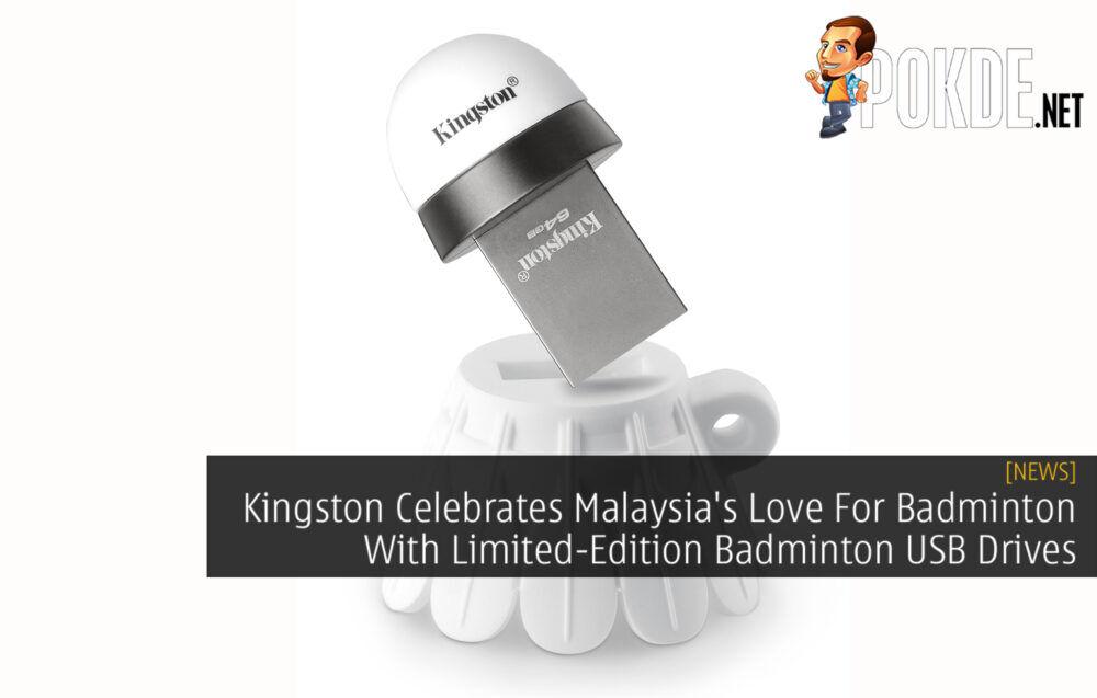 Kingston Badminton USB Drive cover