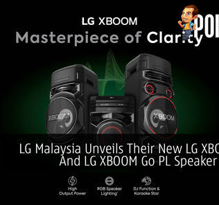 LG Malaysia Unveils Their New LG XBOOM On And LG XBOOM Go PL Speaker Lineup 24