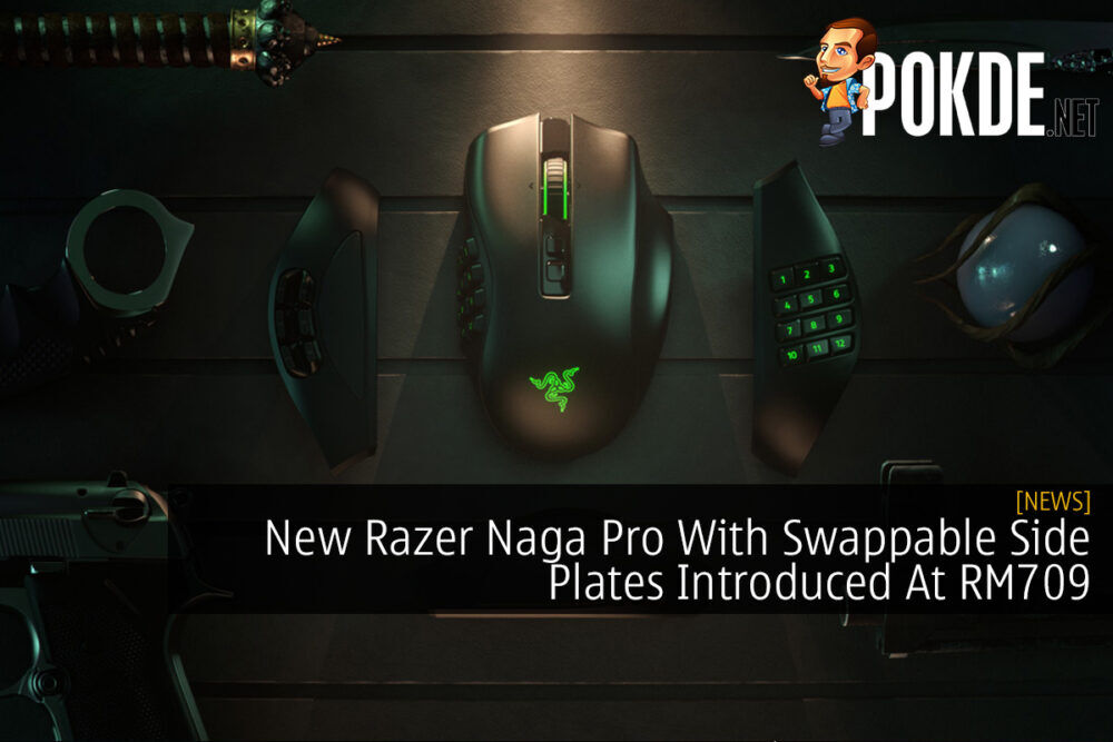 New Razer Naga Pro With Swappable Side Plates Introduced At RM709 23