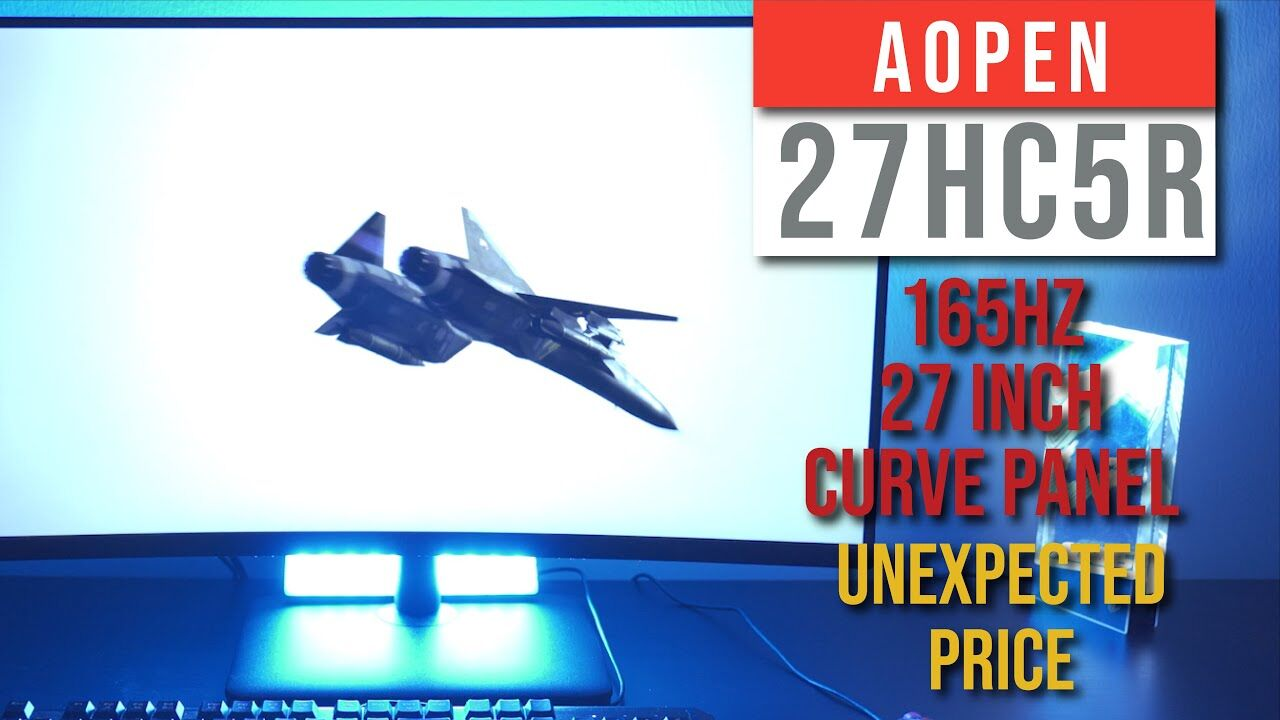 Aopen Fire Legend 27HC5R 165 Hz Gaming Monitor Review - FEATURE PACKED, UNBELIEVABLY AFFORDABLE 22