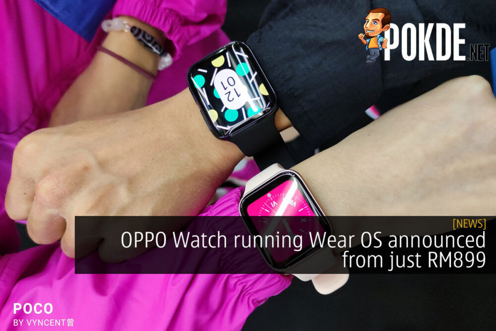 OPPO Watch Wear OS RM899 cover