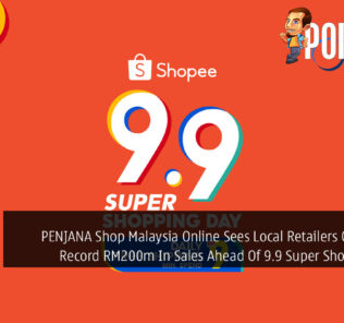 PENJANA Shop Malaysia Online Sees Local Retailers On Shopee Record RM200m In Sales Ahead Of 9.9 Super Shopping Day 33