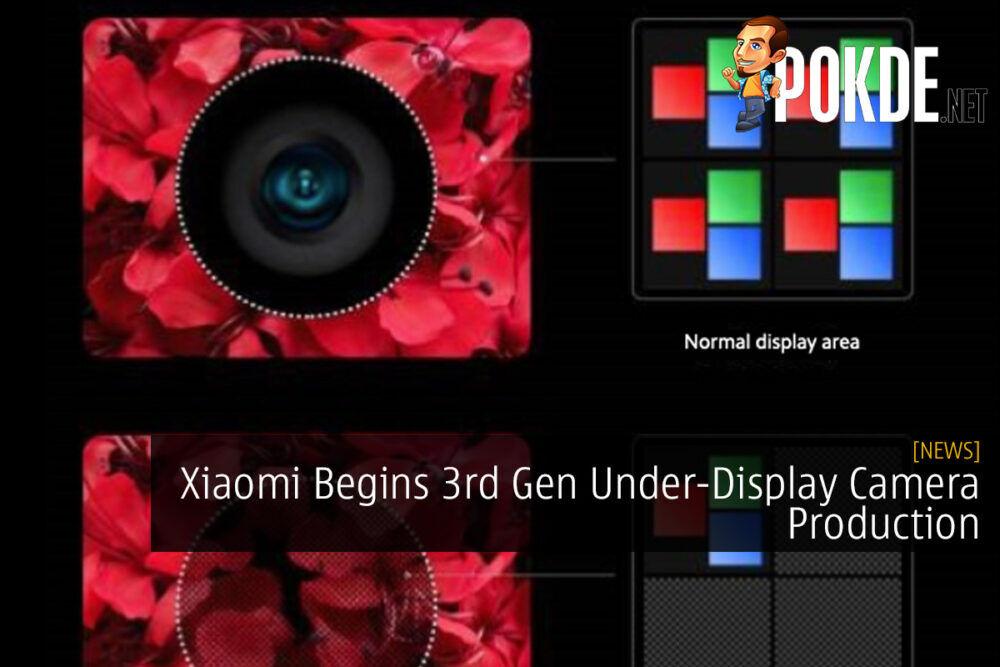 Xiaomi Begins 3rd Gen Under-Display Camera Production 17