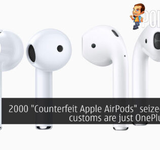 """2000 """"Counterfeit Apple AirPods"""" seized by US customs are just OnePlus Buds 29"""
