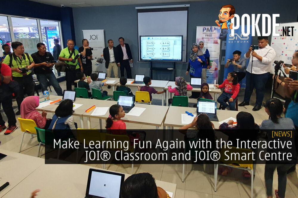 Make Learning Fun Again with the Interactive JOI® Classroom and JOI® Smart Centre