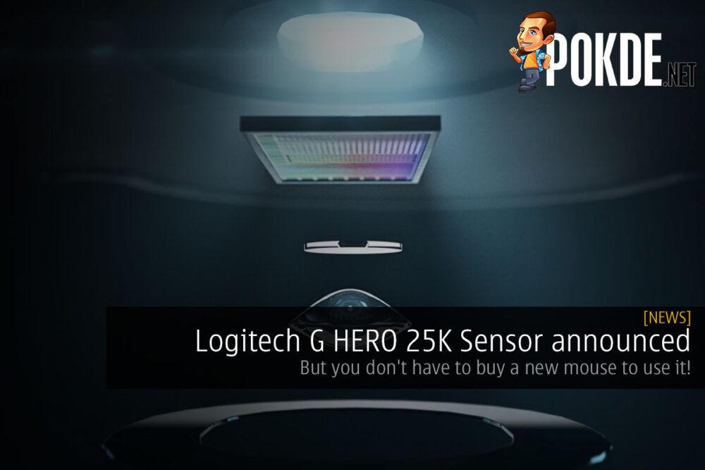 logitech g hero 25k sensor cover