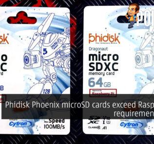 phidisk phoenix microsd raspberry pi cover
