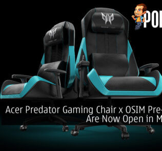 Acer Predator Gaming Chair x OSIM Pre-Orders Are Now Open in Malaysia