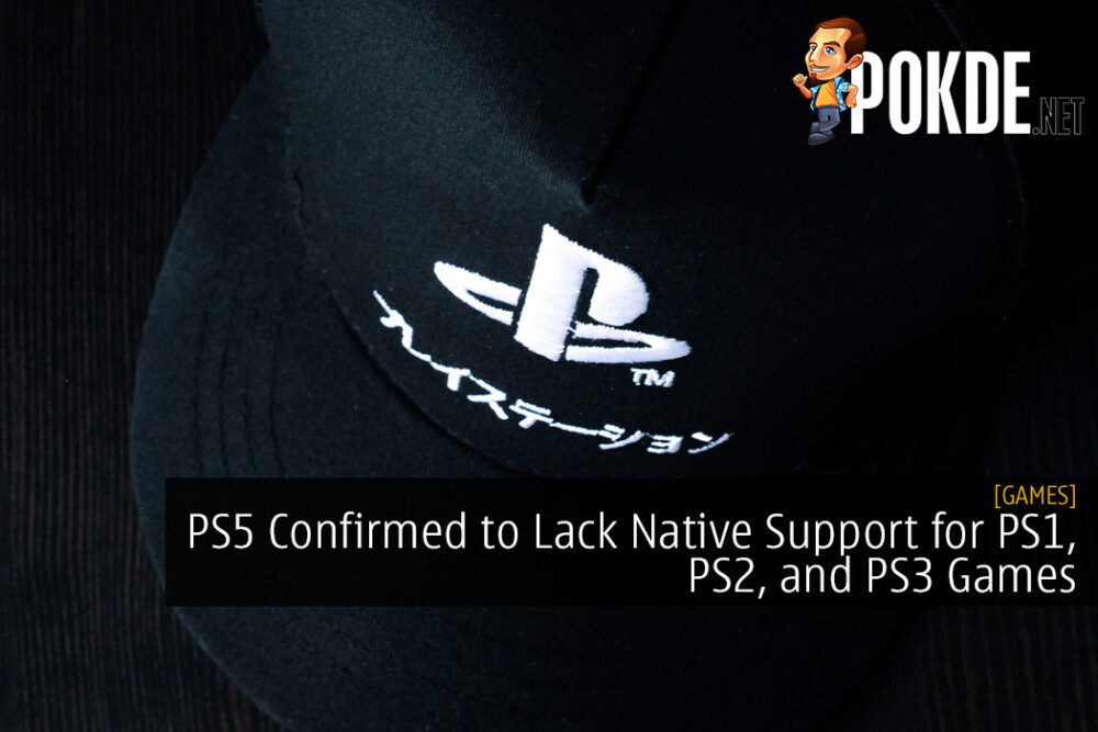 PS5 Confirmed to Lack Native Support for PS1, PS2, and PS3 Games